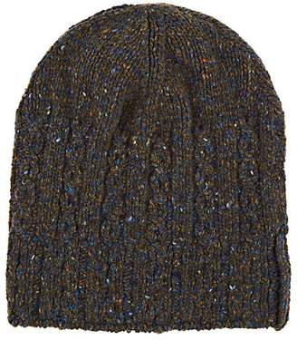 Inis Meain Men's Cable-Knit Merino Wool-Cashmere Hat