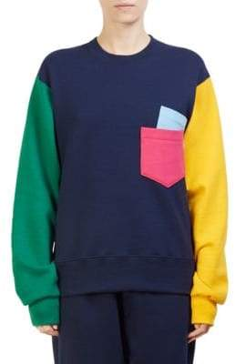 Cédric Charlier Colorblock Sweatshirt
