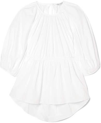 Cecilie Bahnsen - Signe Open-back Cotton Top - White