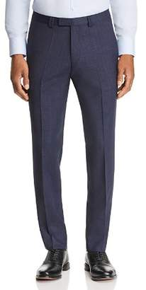 HUGO Hesten Micro-Check Slim Fit Suit Pants