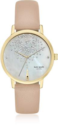 Kate Spade Metro Champagne Women's Watch