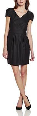 Kookai Women's P3178 Balloon Sleeve Dress Plain Short Sleeve Dress,(Manufacturer Size:40)