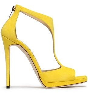 Jimmy Choo Lana Suede Platform Sandals