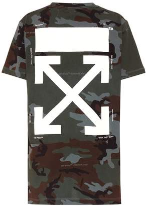 Off-White Off White Printed cotton T-shirt