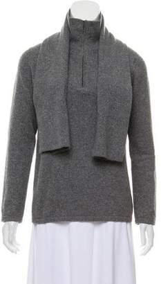 Brunello Cucinelli Metallic Zip-Up Sweater