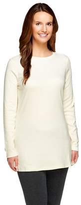 Isaac Mizrahi Live! Essentials Long Sleeve Knit Tunic