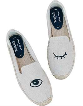 Soludos Wink Embroidery Slipper