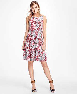 Paisley-Print Dress $78 thestylecure.com