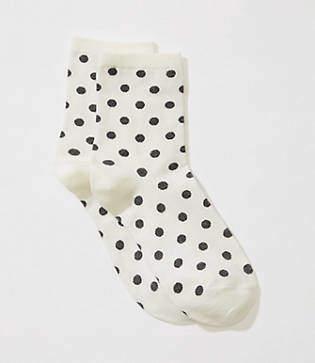 LOFT Dotted Ankle Socks