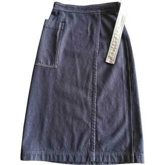 Arket Blue Denim - Jeans Skirt for Women