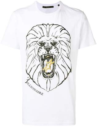 Billionaire printed T-shirt