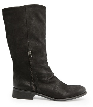 MANGO Outlet Coated Leather Boots