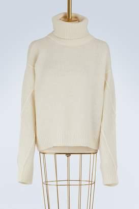 Tory Burch Retractable turtleneck Eva sweater