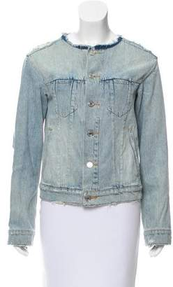 Marc by Marc Jacobs Distressed Denim Jacket