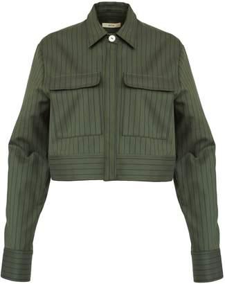 Matin Pinstripe Cotton Twill Jacket