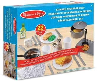 Melissa & Doug 22 Piece Kitchen Accessory Playset