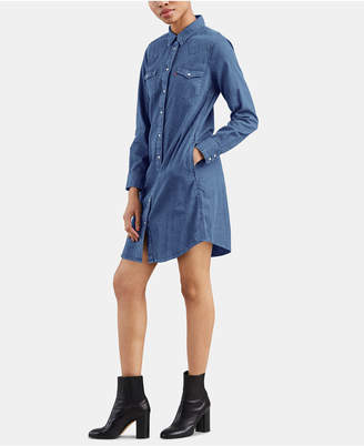Levi's Cotton Ultimate Western Shirtdress