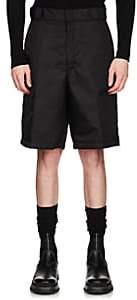 Prada Men's Nylon Gabardine Shorts - Black