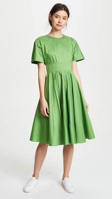 Diane von Furstenberg Pin Tuck Dress
