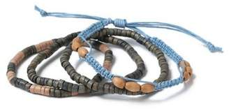 Topman Mens Blue Beaded Bracelet Pack*