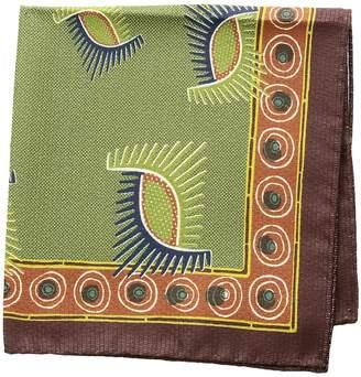Eton Geometric Pocket Square Ties