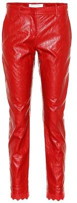 Philosophy di Lorenzo Serafini Faux leather pants