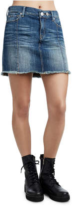 True Religion WOMENS DENIM MINI SKIRT
