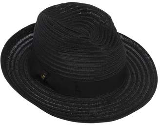 Borsalino Wide Brim Straw Hat
