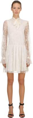Philosophy di Lorenzo Serafini Floral Lace Mini Dress