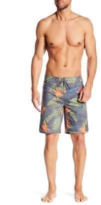 Lost Floral Print Boardshorts