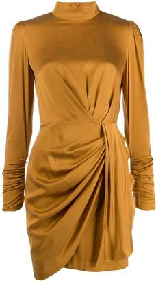 Zimmermann roll neck draped dress