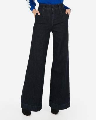 Express Super High Waisted Original Wide Leg Jeans