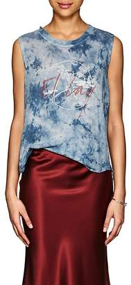 "Raquel Allegra Women's ""El Lay"" Tie-Dyed Cotton Tank"