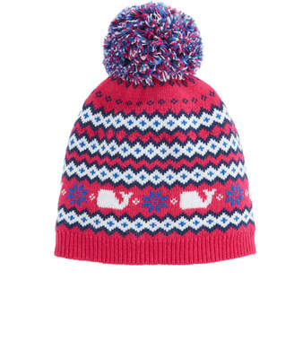 at Vineyard Vines · Vineyard Vines Girls Fairisle Knit Hat 8b12be7ebb4b