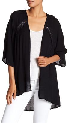 Bobeau Lace Kimono $46 thestylecure.com
