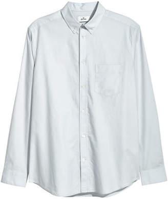 H&M Oxford Cotton Shirt - Gray