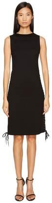McQ Eyelet Long Dress Women's Dress