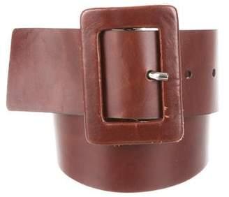 Calvin Klein Leather Waist Belt