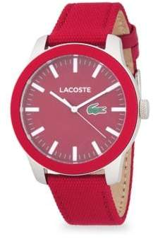 Lacoste Analog Strap Watch