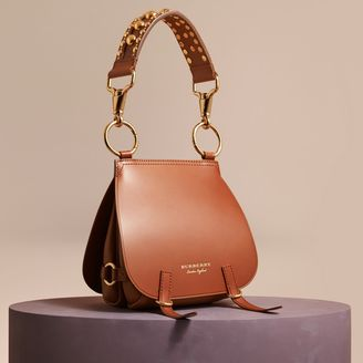 Burberry The Bridle Bag in Leather and Alligator $2,150 thestylecure.com
