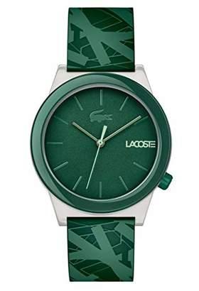 Lacoste Men's Motion Quartz Watch with Rubber Strap