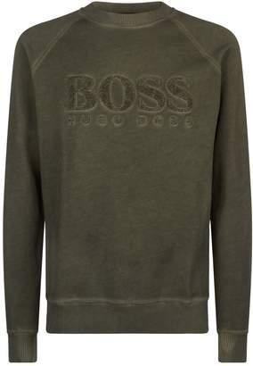 BOSS ORANGE Towelling Logo Sweatshirt
