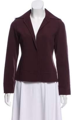 Ellen Tracy Linda Allard Open Front Wool Jacket