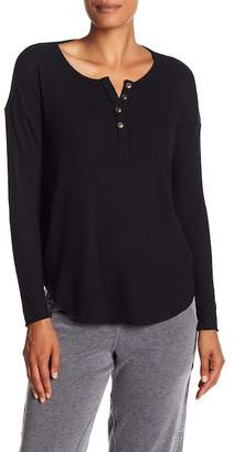 Chaser Ribbed Long Sleeve Henley