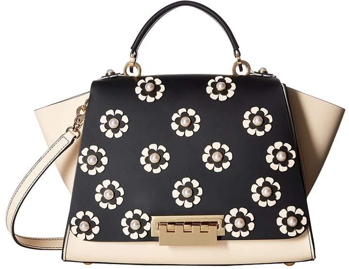 ZAC Zac Posen - Eartha Iconic Floral Applique Soft Top Handle Top-handle Handbags