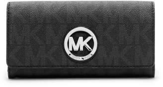Michael Kors Signature Fulton Carry All Wallet