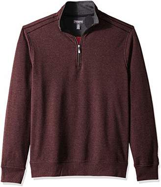 Van Heusen Men's Flex Long Sleeve 1/4 Zip Soft Sweater Fleece