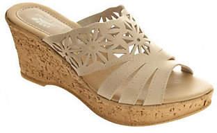 Spring Step Dora Leather Slides
