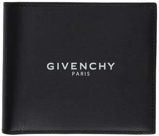 Givenchy Black Paris Bifold Wallet