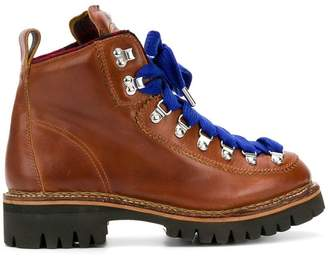 DSQUARED2 lug sole hiking boots